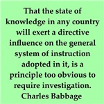 charles Babbage quotes