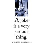 Joke serious