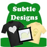 Subtle and Gentle Designs on T-Shirts & Gifts