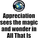 Appreciation Sees