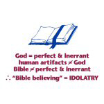 Bible Not Inerrant - Apparel