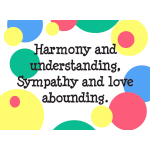 Harmony & Understanding - Apparel