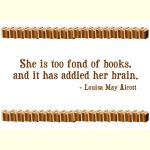 Too Fond of Books - Apparel