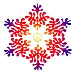Snow Peace - Sunset