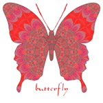 Sesame Butterfly