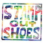 Stamp Out Shoes - Rainbow
