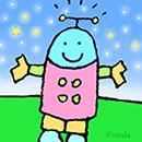 happy robot guy