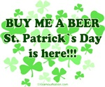Buy me a beer! St. Patrick's Day is Here! 2