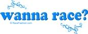 Wanna Race (in blue)