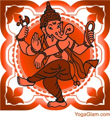 Ganesha brown / YOGA