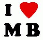 I Love M B