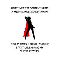 Librarian Superheroine