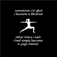Librarian Yoga Master