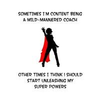 Coaching Superheroine