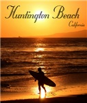 Huntington Beach SunsetSurfer