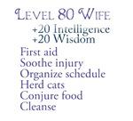 Level 80 Wife
