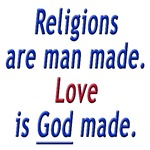 RELIGIONS ARE MAN MADE