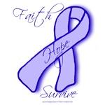 Blue Awareness Ribbon