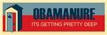 NEW DESIGN: Obamanure Bumper Stickers