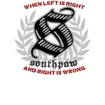 Southpaw - Right is Wrong boxing shirts