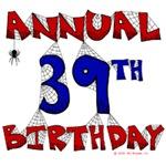 Annual 39th Birthday