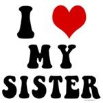 I Love My Sister - I Heart My Sister