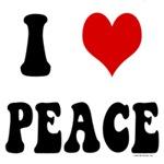 I Love Peace - I Heart Peace
