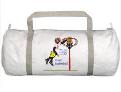 Monkey basketball gym & tote bags