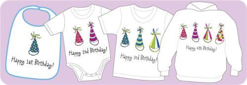 Party Hats Birthday Shirts