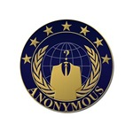 Anonymous Seal in Blue and Gold