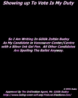 Write-In Buday Black