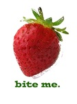 bite me strawberry