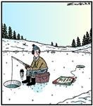 Ice-fishing Pizza bait
