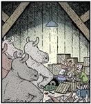 Angry Rhinos