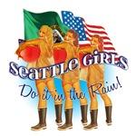 Seattle Girls Do it in the rain!