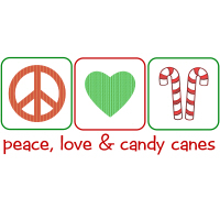 Peace, Love & Candy Canes