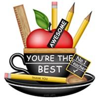 Teacher's Apple Teacup