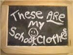 These ARE my school clothes