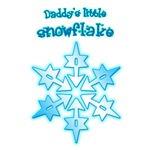 Daddy's little snowflake