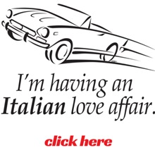 I'm having an Italian Love Affair