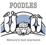 Poodle bed warmers