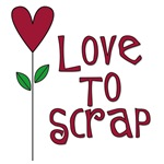 Love to Scrap - Red