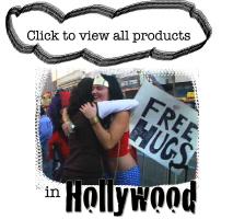 Free Hugs in Hollywood
