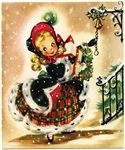 Classic Christmas Girl