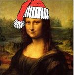 Santa Mona Lisa