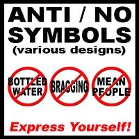 Anti / No Symbols