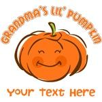 Grandma's Little Pumpkin Personalized