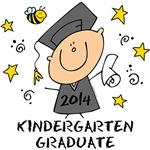 Cute Boy Kindergarten Grad 2014