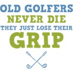 Old Golfers Lose Their Grip