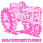 Real Women Drive Tractors